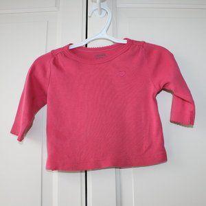 3/$20 Gymboree baby girl t-shirt heart 6-12 months